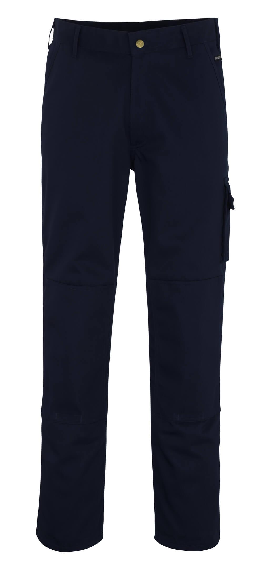 00279-430-01 Pantaloni con tasche porta-ginocchiere - blu navy