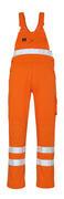 00469-860-14 Salopette con tasche porta-ginocchiere - arancio hi-vis