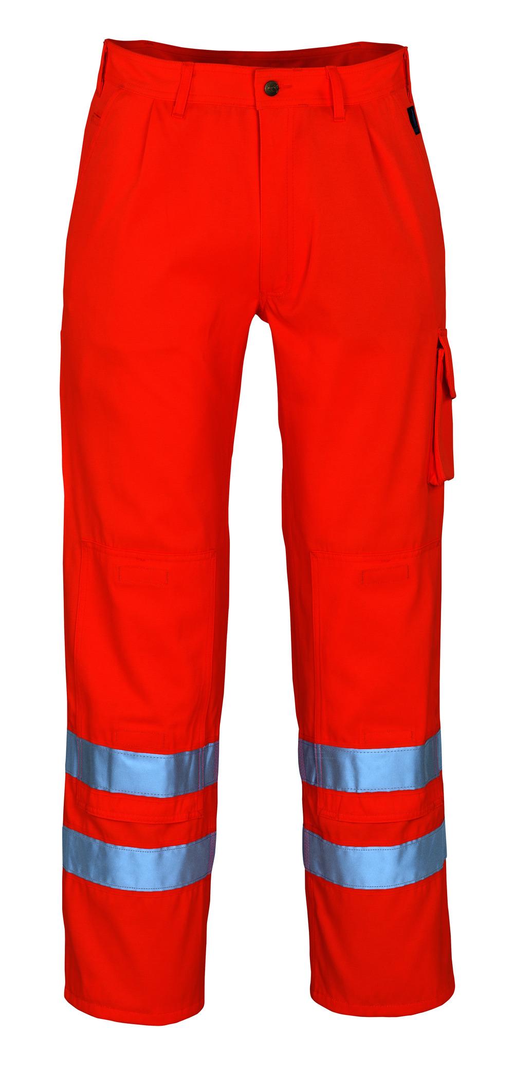 00479-860-14 Pantaloni con tasche porta-ginocchiere - arancio hi-vis