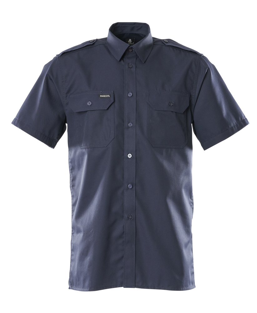 00503-230-01 Camicia, a maniche corte - blu navy