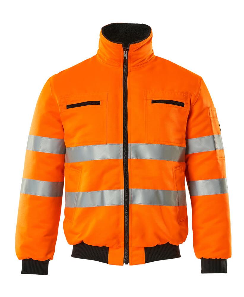 00516-660-14 Giacca da pilota - arancio hi-vis