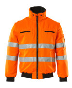 00520-660-14 Giacca da pilota - arancio hi-vis