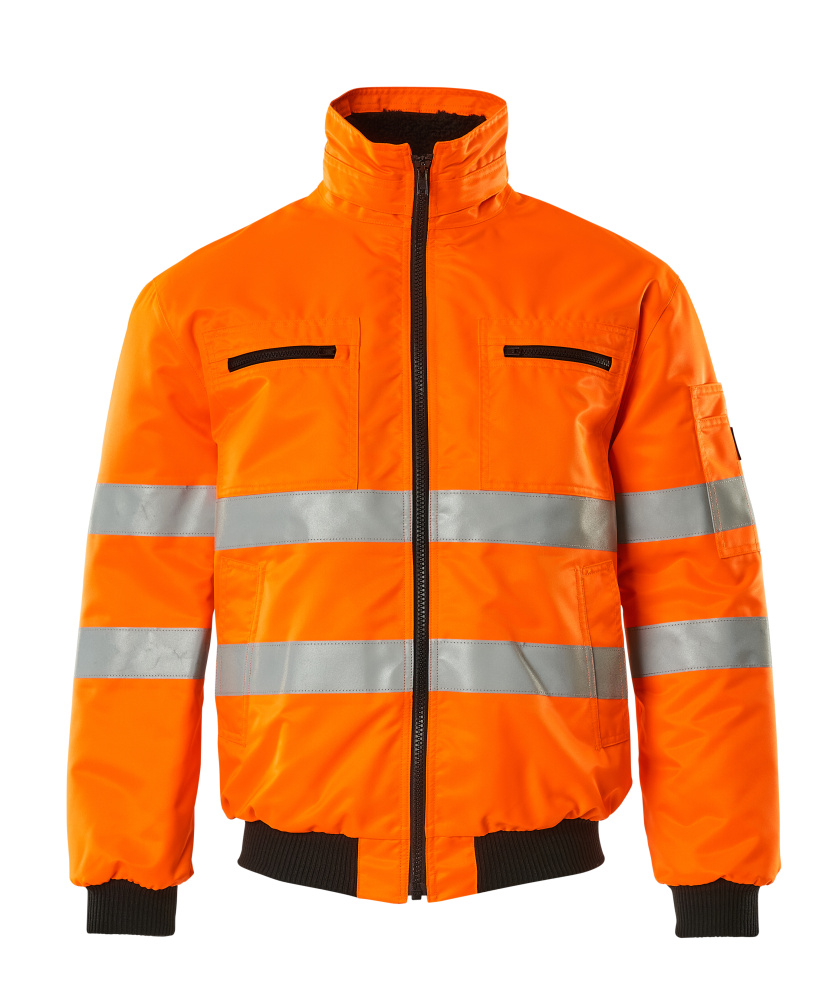 00534-880-14 Giacca da pilota - arancio hi-vis