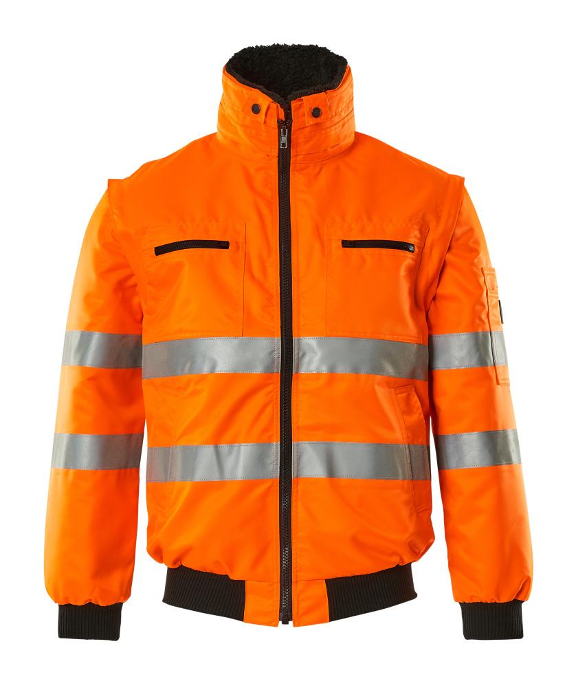 00535-880-14 Giacca da pilota - arancio hi-vis