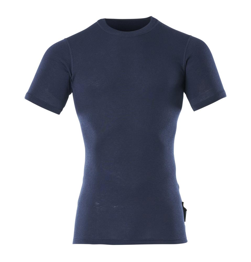 00597-350-01 Sottomaglia tecnica, a maniche corte - blu navy