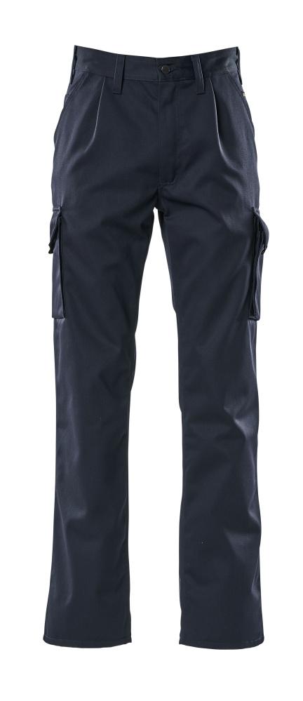 00773-430-01 Pantaloni con tasche sulle cosce - blu navy