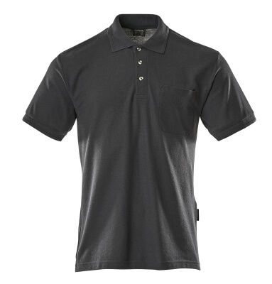 00783-260-010 Polo con tasca sul petto - blu navy scuro