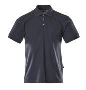 00783-260-01 Polo con tasca sul petto - blu navy