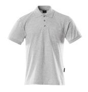 00783-260-08 Polo con tasca sul petto - grigio melange