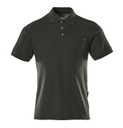 00783-260-09 Polo con tasca sul petto - nero