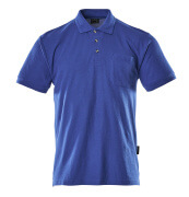 00783-260-11 Polo con tasca sul petto - blu royal