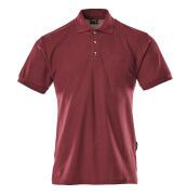 00783-260-22 Polo con tasca sul petto - rosso bordeaux