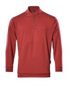 00785-280-02 Polo Felpata - rosso