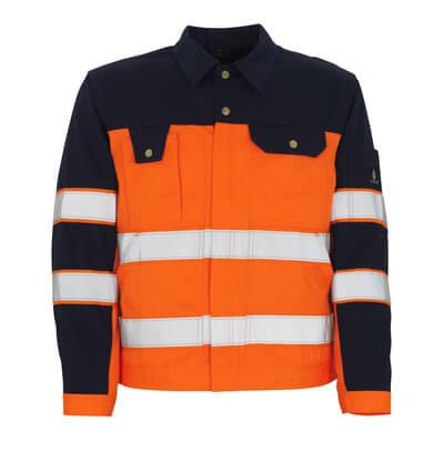 00909-860-141 Giacca - arancio hi-vis/blu navy