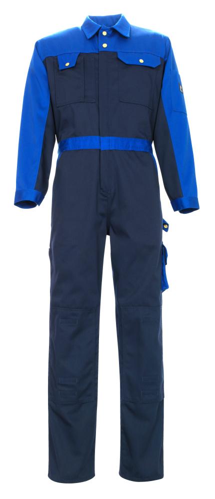 00919-430-111 Tuta da lavoro con tasche porta-ginocchiere - blu navy/blu royal