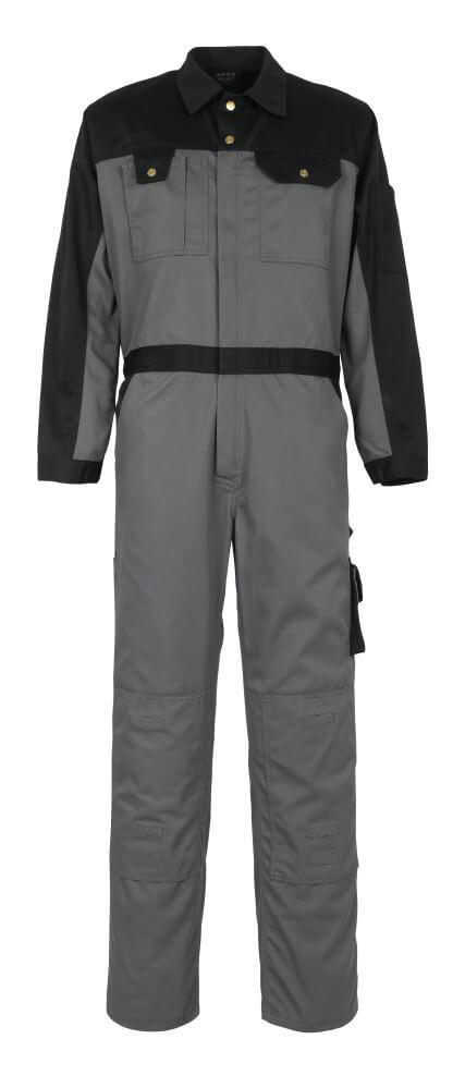 00919-430-8889 Tuta da lavoro con tasche porta-ginocchiere - antracite/nero