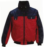 00920-620-21 Giacca da pilota - rosso/blu navy