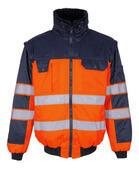 00920-660-141 Giacca da pilota - arancio hi-vis/blu navy