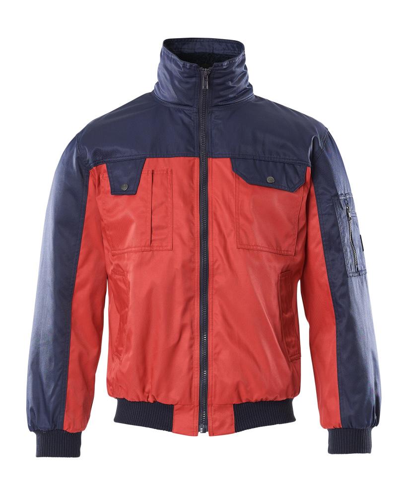 00922-620-21 Giacca da pilota - rosso/blu navy