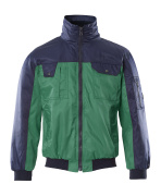 00922-620-31 Giacca da pilota - verde/blu navy