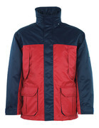 00930-650-21 Parka - rosso/blu navy