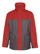 00930-650-88802 Parka - antracite/rosso