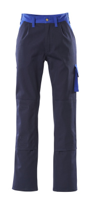 00955-630-111 Pantaloni con tasche porta-ginocchiere - blu navy/blu royal