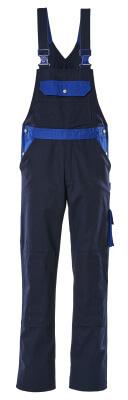 00962-630-111 Salopette con tasche porta-ginocchiere - blu navy/blu royal