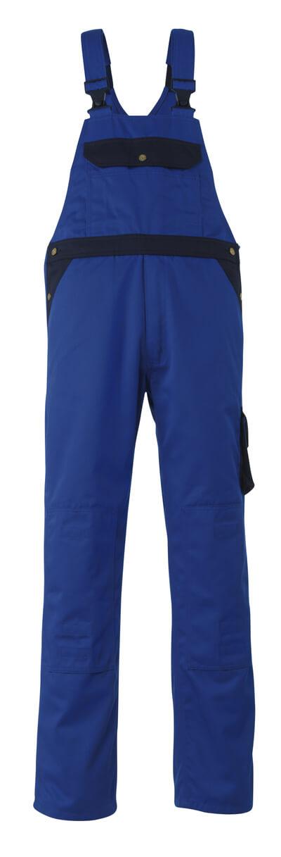 00969-430-1101 Salopette con tasche porta-ginocchiere - blu royal/blu navy