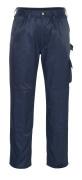 00979-620-01 Pantaloni con tasche porta-ginocchiere - blu navy
