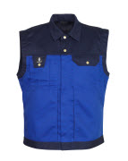 00990-430-1101 Gilet - blu royal/blu navy