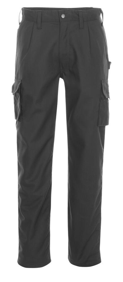 03079-010-09 Pantaloni con tasche sulle cosce - nero
