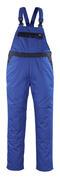 04569-800-1101 Salopette con tasche porta-ginocchiere - blu royal/blu navy
