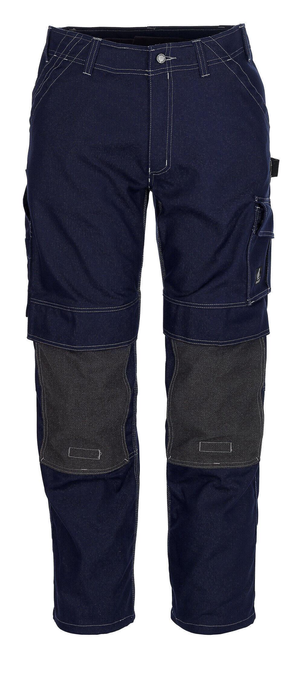 05079-010-01 Pantaloni con tasche porta-ginocchiere - blu navy