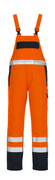 05192-064-141 Salopette - arancio hi-vis/blu navy