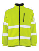 05242-125-17 Giacca in Pile - giallo hi-vis
