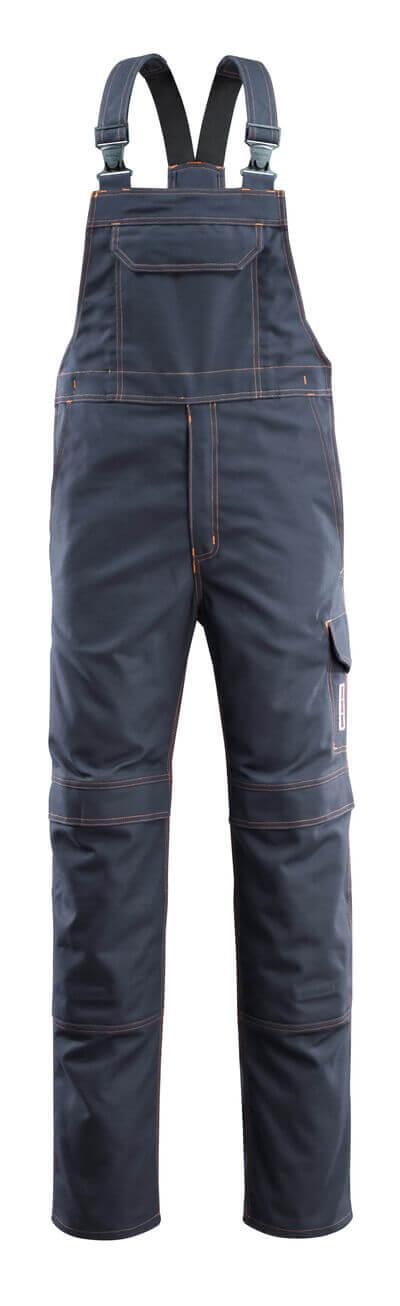 06669-135-010 Salopette con tasche porta-ginocchiere - blu navy scuro