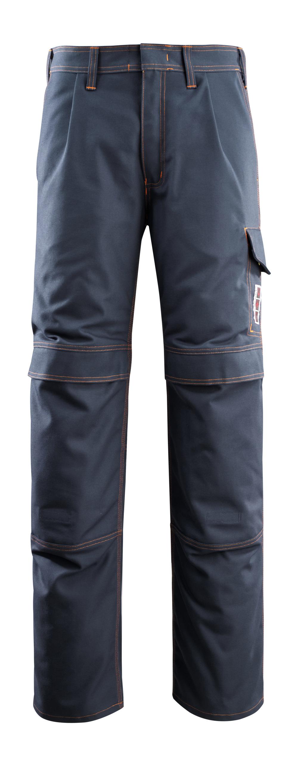06679-135-010 Pantaloni con tasche porta-ginocchiere - blu navy scuro