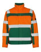 07109-860-1403 Giacca - arancio hi-vis/verde