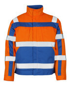 07109-860-1411 Giacca - arancio hi-vis/blu royal