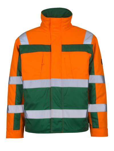 07123-126-1403 Giacca da pilota - arancio hi-vis/verde