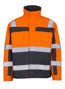 07123-126-14888 Giacca da pilota - arancio hi-vis/antracite