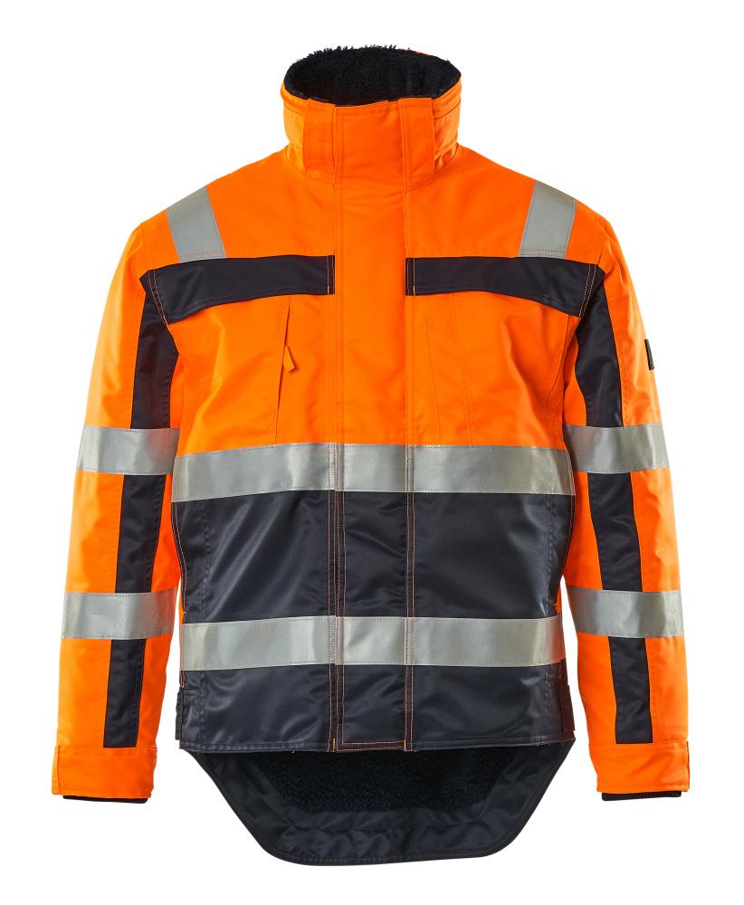 07223-880-141 Giacca antifreddo - arancio hi-vis/blu navy