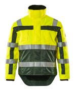 07223-880-1703 Giacca antifreddo - giallo hi-vis/verde