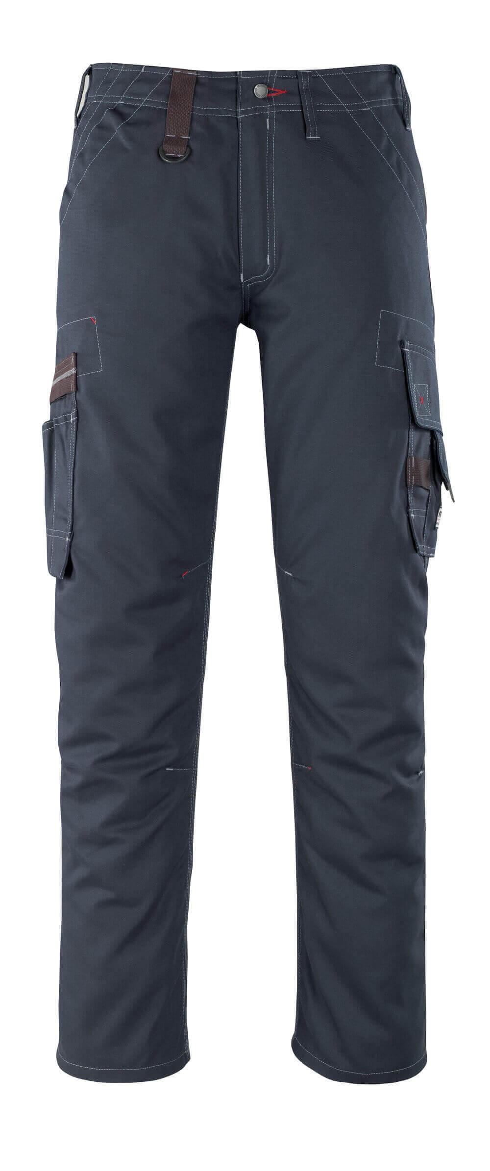 07279-154-010 Pantaloni con tasche sulle cosce - blu navy scuro