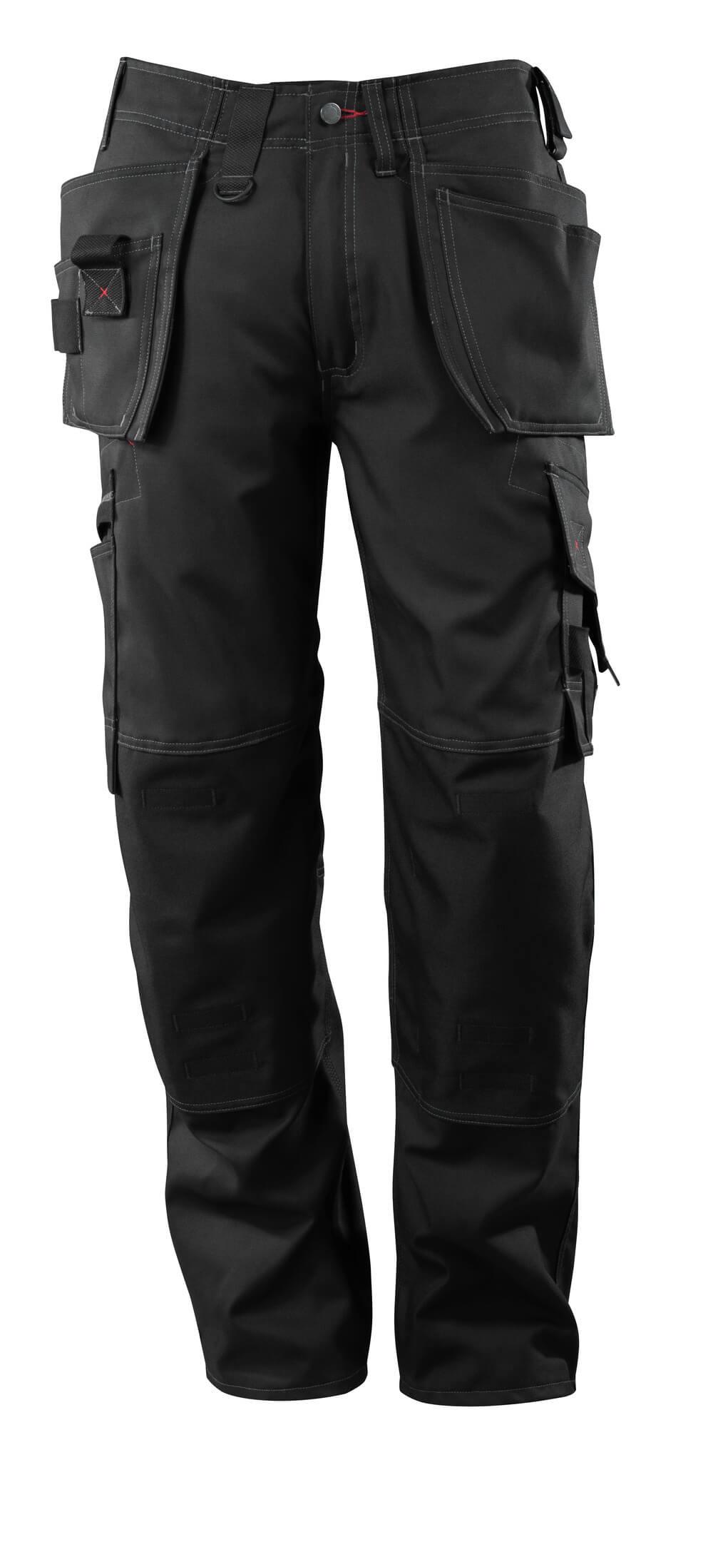 07379-154-09 Pantaloni con tasche esterne - nero