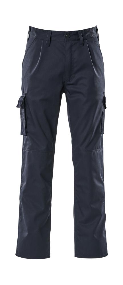 07479-330-01 Pantaloni con tasche porta-ginocchiere - blu navy