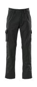07479-330-09 Pantaloni con tasche porta-ginocchiere - nero
