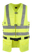 08089-470-17 Gilet porta attrezzi - giallo hi-vis