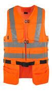 08089-860-14 Gilet porta attrezzi - arancio hi-vis